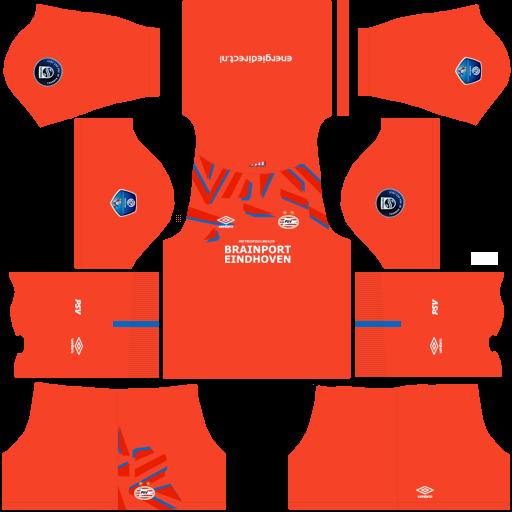 equipación PSV Eindhoven DLS