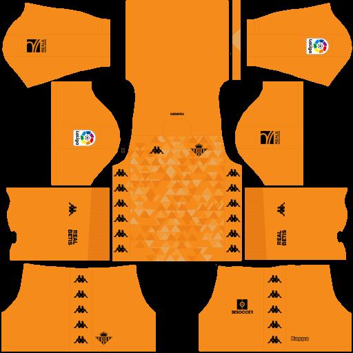 equipación Real Betis DLS