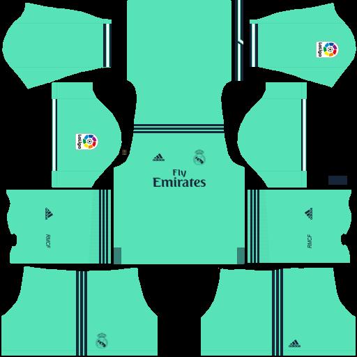 equipación Real Madrid DLS