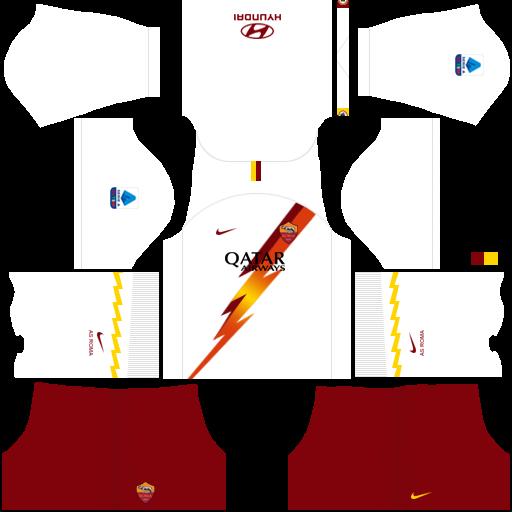 equipación AS Roma Dream League Soccer