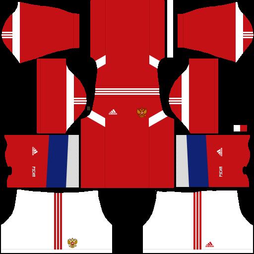 equipación Selección de Rusia Dream League Soccer