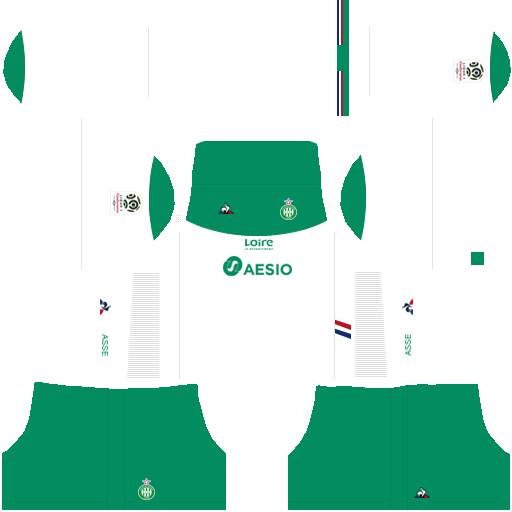 equipación Saint Etienne Dream League Soccer