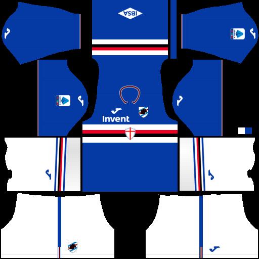 equipación Sampdoria Dream League Soccer