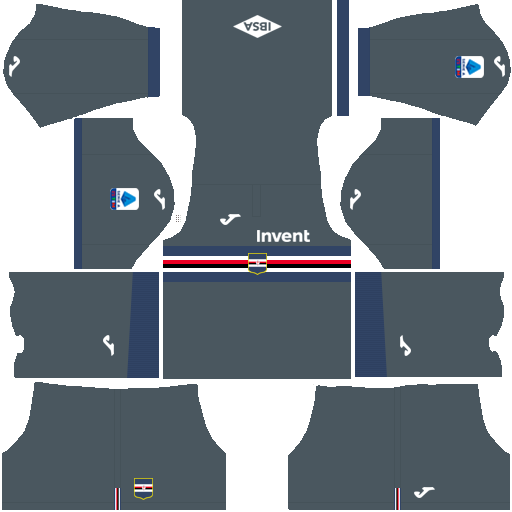 equipación Sampdoria DLS