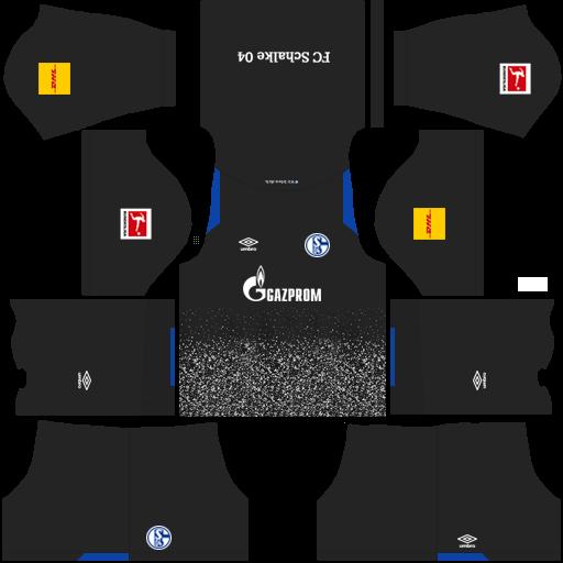 equipación Schalke 04 DLS