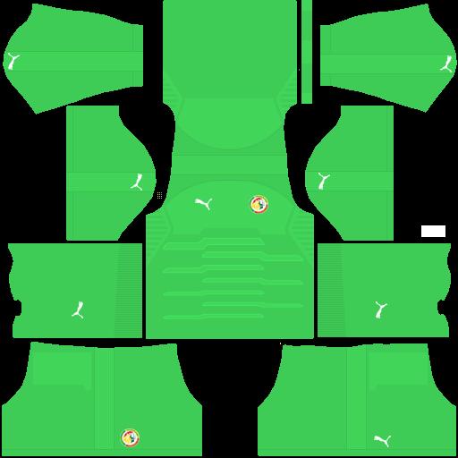 equipación Selección de Senegal DLS