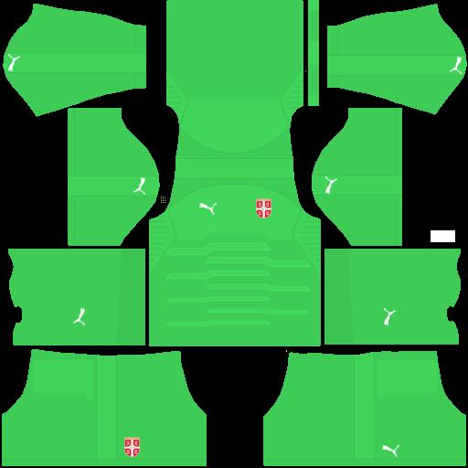 equipación Selección de Serbia DLS