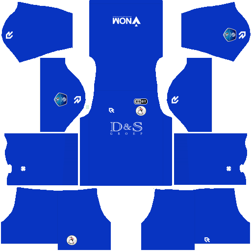 equipación Sparta Rotterdam DLS