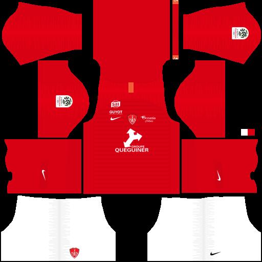 equipación Stade Brestois Dream League Soccer