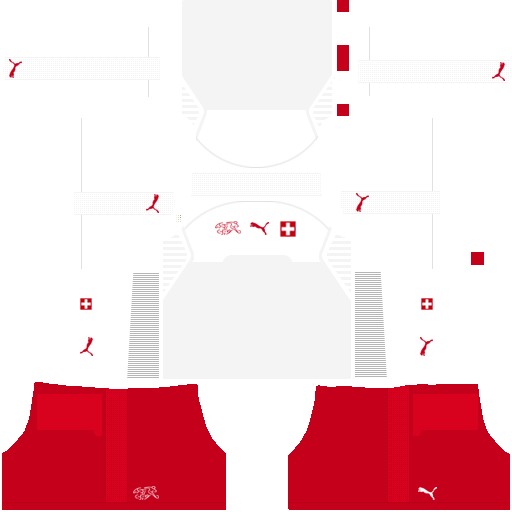 equipación Selección de Suiza Dream League Soccer