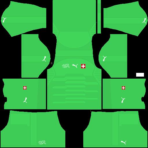 equipación Selección de Suiza DLS
