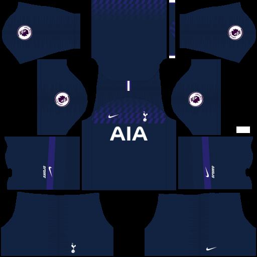 equipación Tottenham Hotspur Dream League Soccer