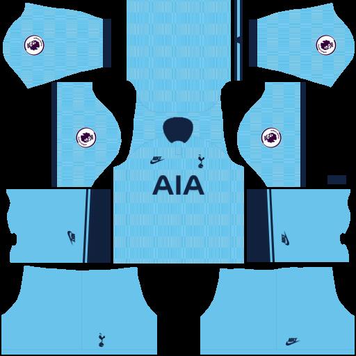 equipación Tottenham Hotspur DLS