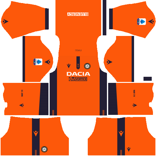 equipación Udinese Dream League Soccer
