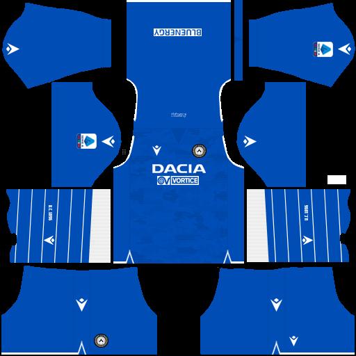 equipación Udinese DLS