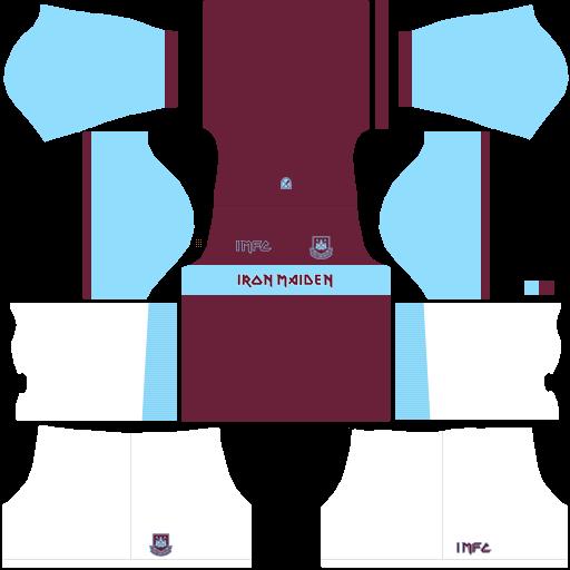 equipación West Ham DLS