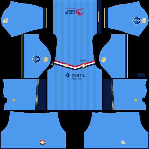 equipación Willem II DLS