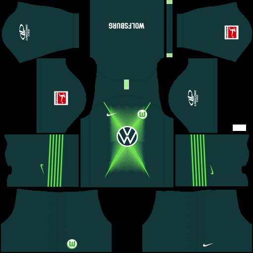 equipación Wolfsburgo Dream League Soccer